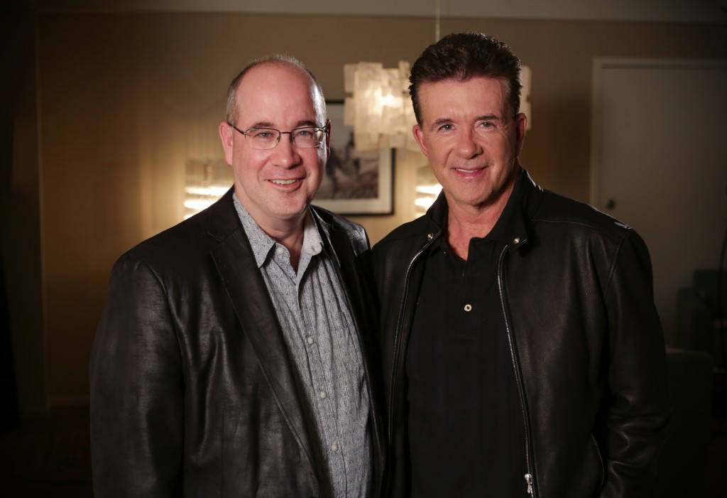 Alan Thicke and Leslie Bland