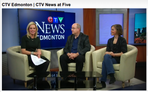 Tracy Thomas and Leslie Bland on CTV News at Five